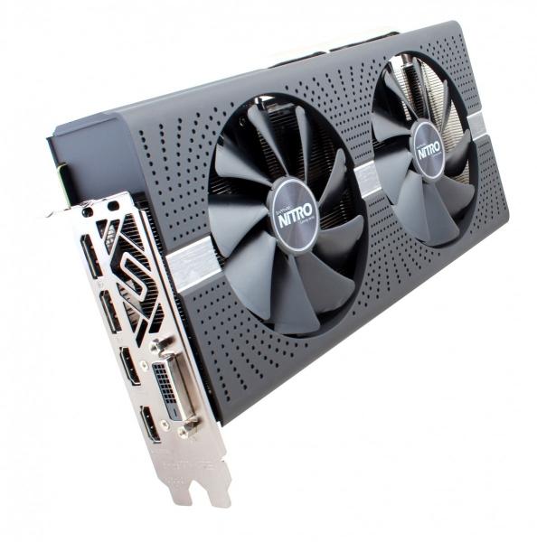 SVGA PCIE Sapphire NITRO+ RX580 8GB 11265-01-20G
