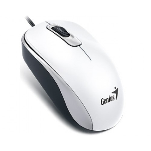 Mouse USB Genius DX-110 White