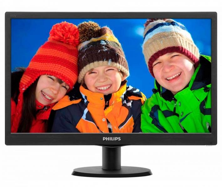 Monitor 18.5'' PHILIPS 193V5LSB2/10 LED V-Line