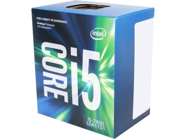 CPU 1151 INTEL Core i5-7400 3.0GHz 6MB Box