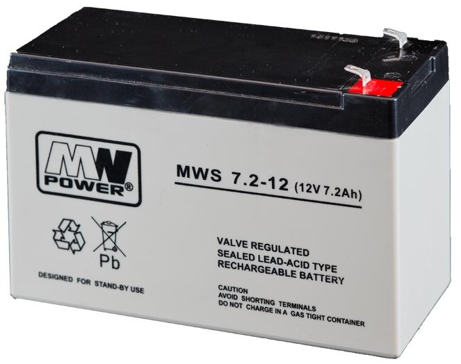 UPS Battery MW Power MWS 9Ah 12V