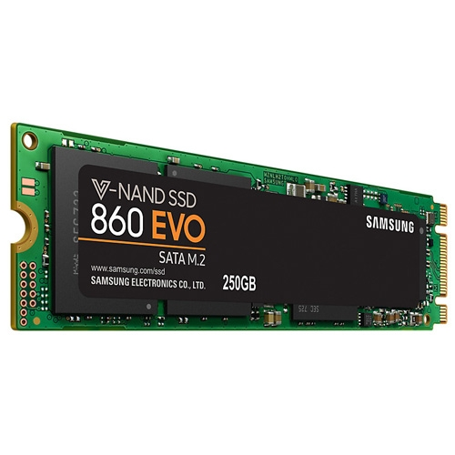 SSD Samsung M.2 250GB 860 EVO MZ-N6E250BW